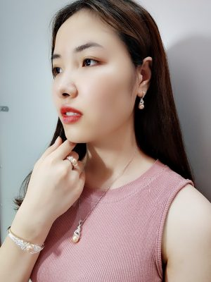 Bộ trang sức Gold Pearl-wscpearl